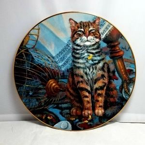 """Cattails Collector Plate """"Flew the Coop"""""""